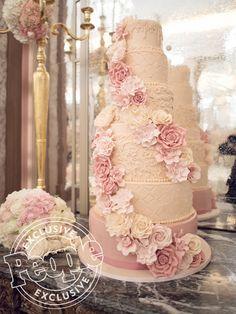Adrienne Bailon's Wedding Menu and Cake Photos