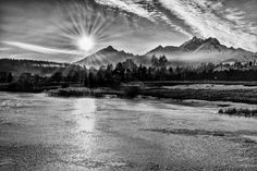 Just breathtaking :) Sunset in black and white by Milan Cernak Kriváň High Tatras, Sunset Tattoos, Visit Prague, Big Country, Bratislava, Lonely Planet, Homeland, Milan, Castle