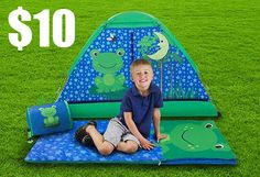 Kids 4-Piece Camping Combo with Carry Bag $10 *HOT* - http://www.swaggrabber.com/?p=282385