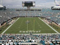 Jacksonville Jaguars - Jacksonville Municipal Stadium: Jacksonville, FLORIDA