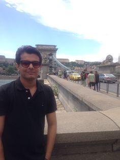 Chain bridge and Buda palace