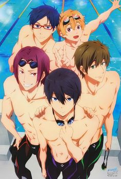 Free! Eternal Summer! Jesus I just realized how much I actually like this anime! I'm literally so freaking excited!