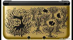 Pokémon X & Y 3DS : une 3DS XL collector couleur or