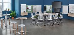 NeoCon 2016 - Products - Herman Miller - Exclave Collaborative Furniture