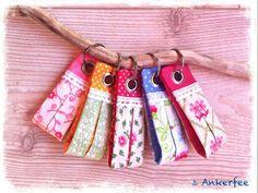 Schlüsselband ⚓  Pietje, rosa von ⚓ Ankerfee auf DaWanda.com