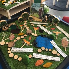 📚 THE GRUFFALO 📚 This Gruffalo storytelling tray was set up on Friday alongside our writing/painting activity (in my last post) 📚 It was an…