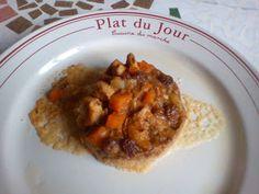 Couscous à ma façon Couscous, Facon, French Toast, Oatmeal, Breakfast, Sleeve, Chicken Schnitzel, Tomato Paste, Raisin