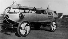 The 1929 Rocket Car of Upstate New York