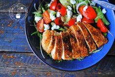 Deze snelle (lunch) salade met kip is een van mijn favoriete salades.