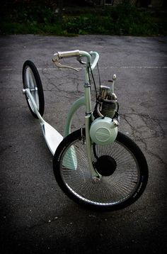 Solex - The Sidewalk Surfer                                                         I have to admit...I love this!          VeloSoleX s are ...