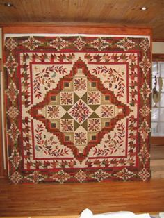medallion quilt patterns   Medallion Quilts- Learn how to take a concept and design a medallion ...