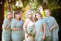 Laura Ashbrook Photography Washington DC Christian Indian Muslim Elegant Wedding Bridal Party 550x366 Elegant Indian Fusion Fall Wedding in Maryland: Kate + Sajid