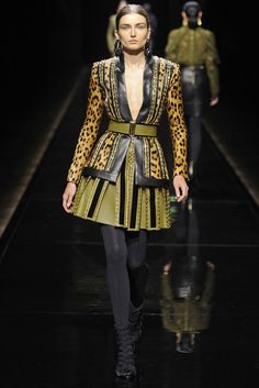 BALMAIN PARIS FALL 2014 READY TO WEAR