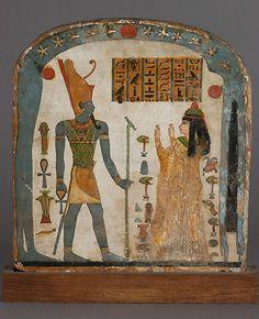 Tablet with Prayer to Osiris/Amun.  Osiris - dios creador y de la agricultura.