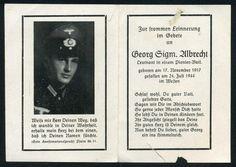 orig WK2 STERBEBILD - DEATH CARD - OFFIZIER - NORMANDIE 1944 FRANKREICH LA CAMBE