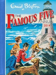 The Famous Five books by Enid Blyton feature Julian, Dick, George, Anne and Timmy the dog, who in their school holidays always get wound up in an adventure. Secret tunnels and mysteries abound! Famous Five Books, The Famous Five, Vintage Notebook, Vintage Children's Books, Vintage Games, Antique Books, Great Books, My Books, Story Books