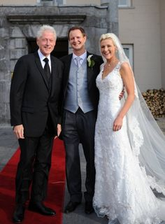 Kelly And Patrick Tied The Knot In Ireland Imagine Their Surprise When Former Us President Bill Clinton Walked Over Introduced Himself