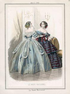 Les Modes Parisiennes, April 1, 1856