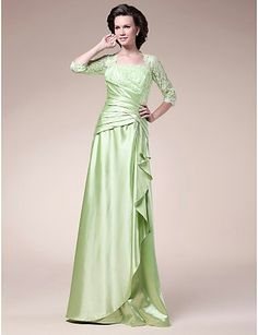 Beautiful dress..i imitate this model to my dress..its material is syphon..i think this is suitable for satin fabric...