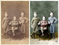 For only $5, I will repair and colorize your valuable old photo. | I will RESTORE and RECOLOR your beloved old photo with a natural, realistic look. Each one is handled with care and attention. Here is what | On Fiverr.com