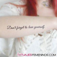 tatuajes de frases y letras para mujeres 13