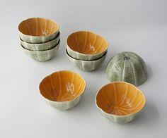 Melon Bowls - Bordallo Pinheiro - A burst of colour