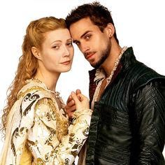 "Both Joseph Fiennes & Gwyneth Paltrow had the most gorgeous costumes in ""Shakespeare in Love""."