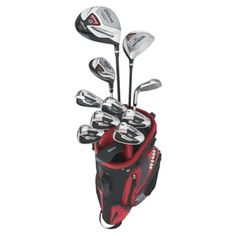 Wilson Profile Complete 11-Piece Package Set (Men's, Right-Hand, Long) by Wilson. Save 33 Off!. $268.08. Men's Right-Hand LONG Model. Driver, Fairway Wood are 1/2 inch longer, Hybrid and Irons are 1 inch longer Driver, Fairway Wood, Hybrid, 5-SW, Putter, Bag