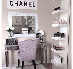 Lavender White desk dresser ラベンダー 白 勉強机 ドレッサー