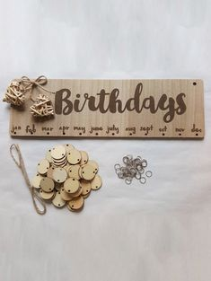 Wall Hanging DIY Wooden Birthday Calendar Reminder Board – Hobbies paining body for kids and adult Birthday Calendar Reminder, Birthday Calendar Board, Family Birthday Board, Diy Birthday Reminder Board, Birthday Wall, Birthday Diy, Birthday Gifts, Calendrier Diy, Cute Happy Birthday