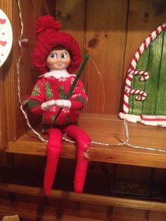 Elf on the shelf- fishing