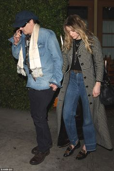 Cosy dinner for two: Johnny Depp and Amber Heard enjoyed a romantic and low-key dinner at Ago in West Hollywood, CA on Wednesday