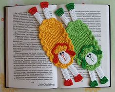 054 Sheep Bookmark or decor Amigurumi by LittleOwlsHut