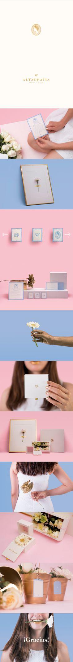 Altagracia Flower Shop Branding by Heavy