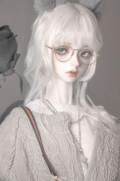 Anime Dolls, Bjd Dolls, Ball Jointed Dolls, Dibujos Cute, Creepy Dolls, Doll Repaint, Cute Dolls, Doll Face, Beautiful Dolls