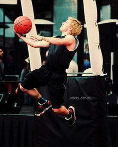 Josh at his Hollywood Knights game this past week. This kid has hops!