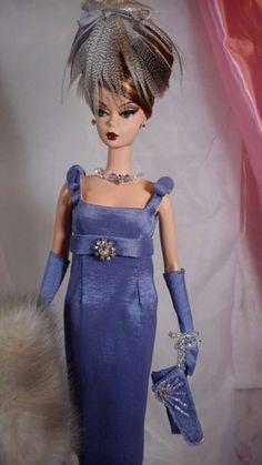 *FRANCESCA* Vintage Repro Barbie Silkstone FR Fashion Handmade Dress OOAK / Mary