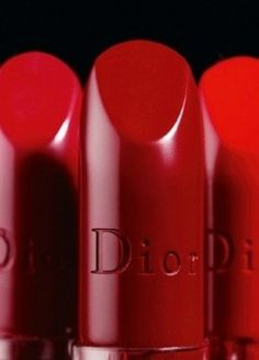 I'm a red lipstick girl and I will be forever: Rich red Dior
