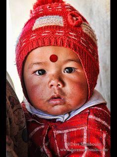 cute baby, Annapurna region of Nepal