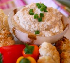 Roasted Cauliflower Hummus  Ingredients  1 head cauliflower 1 cup cashews, soaked at least 4 hours ¼-½ cup water ½ cup olive oil 1/4 cup tahini 3 Tbsp lemon juice 2 cloves garlic, chopped 2 tsp. cumin salt and pepper to taste