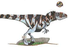 Gigantotyrannus Length: 20 m/ 66 feet Height: feet Height: tons, Mix between Giganotosaurus and T-Rex Jurassic World Hybrid, Jurassic Park World, Dinosaur Art, Dinosaur Fossils, Prehistoric Creatures, Mythical Creatures, Hybrid Art, Jurassic World Dinosaurs, Monster Art