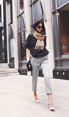 135 Non-Boring Work Outfits To Wear This Fall a3990d39b1