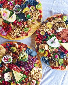 Today we feast. Platters steal the show! --- Tag us or use for a chance to get featured! Party Platters, Food Platters, Cheese Platters, Cheese Food, Charcuterie Platter, Antipasto Platter, Snack Platter, Appetizers For A Crowd, Food For A Crowd