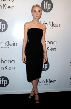 Carey Mulligan in Calvin Klein Collection