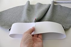 TUTORIAL: the Circle Skirt   MADE- wide elastic band tutorial