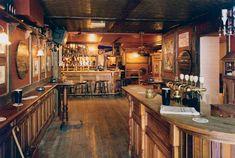 Irish Pub scene approx A4 metal wall sign Vintage cool home bar Pub gift