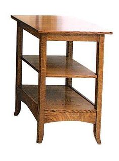 Amish Shaker Hill Printer Stand Or End Table