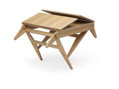 Mon Oncle a une table et relevable par Frédéric Cadet @espritdesign