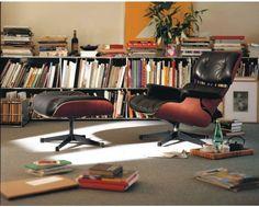 Lounge Chair von Charles und Ray Eames das Original von Vitra