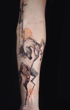 Nadi tattooer horse tattoo